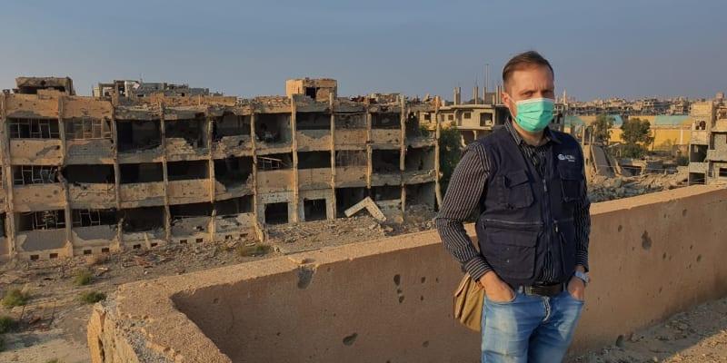 Zbyněk Wojkowski v Sýrii.