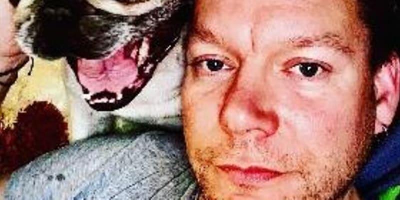 Se svým psem Tobiášem.
