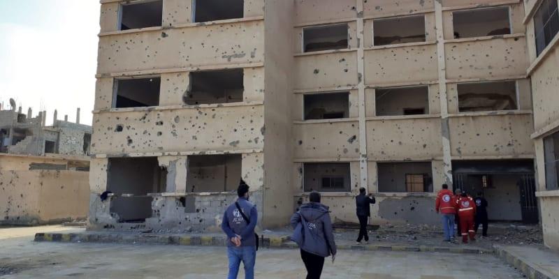 Obnova zničené Sýrie potrvá desetiletí.