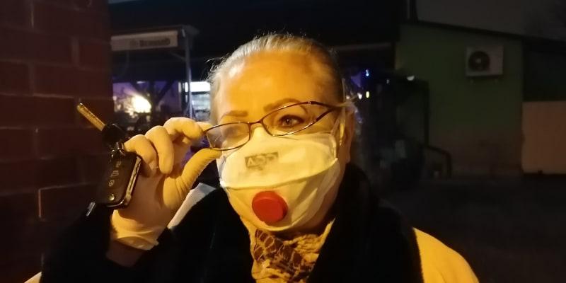 Ekatěrina Garbová, přímá svědkyně střelby z čekárny v ostravské nemocnici.