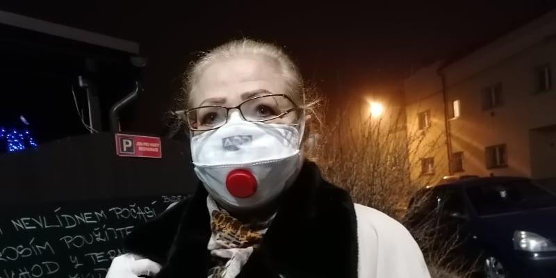 Ekatěrina Garbová, přímá svědkyně střelby z čekárny v ostravské  fakultní nemocnici.