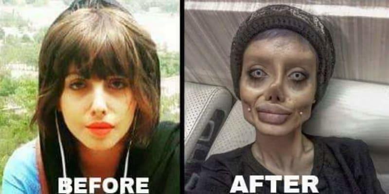 """Íránská """"Angelina Jolie"""" si měla odsedět 10 let."""