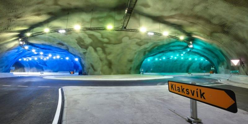 Kruhový objezd, který se nachází 187 metrů pod mořem, se zřejmě stane turistickou atrakcí.