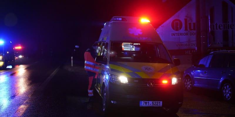 Na místo musela přijet nejenom policie, ale i technická výpomoc.