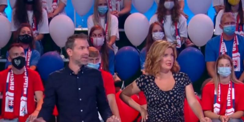 Zuzana Norisová ukázala v televizní show Milujem Slovensko veřejnoprávní televize RTVS těhotenské bříško.