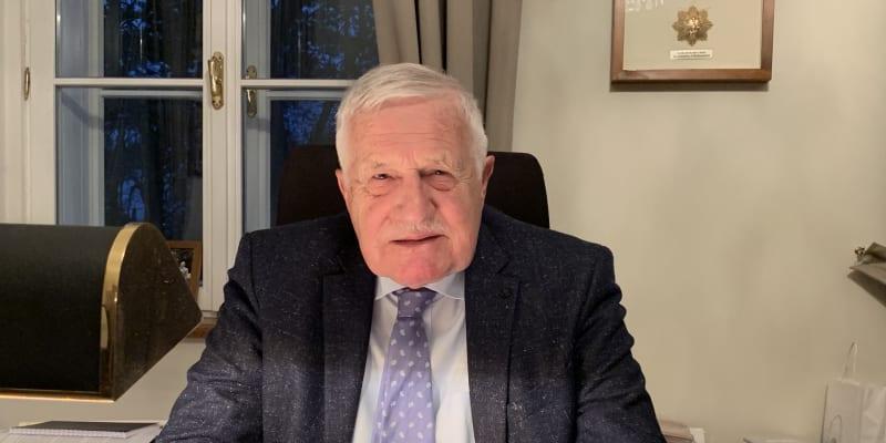 Václav Klaus vzpomíná na transformaci české ekonomiky.