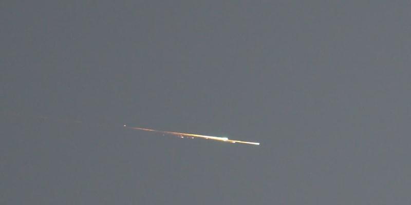 Padající hvězdy mohli lidé vidět na noční obloze poblíž Colchesteru v Essexu na Štědrý den.