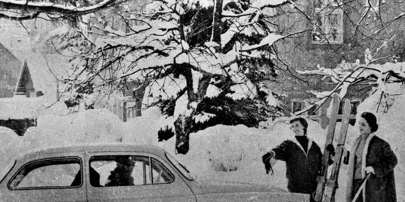 Časopis Svět motorů z roku 1960. Poslední silvestr, kdy se řidiči mohli napít alkoholu, pokud tedy nezapříčinili nehodu.