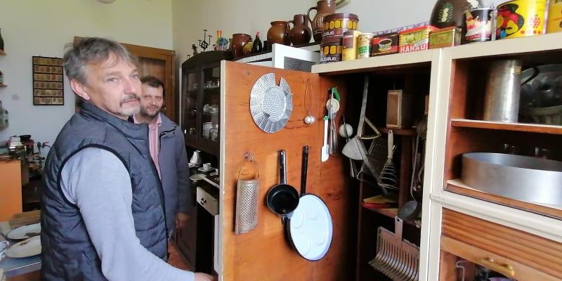 Muzeum Československa. Původní vybavení kuchyně