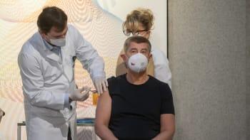 Andrej Babiš dostal druhou dávku vakcíny proti COVID-19