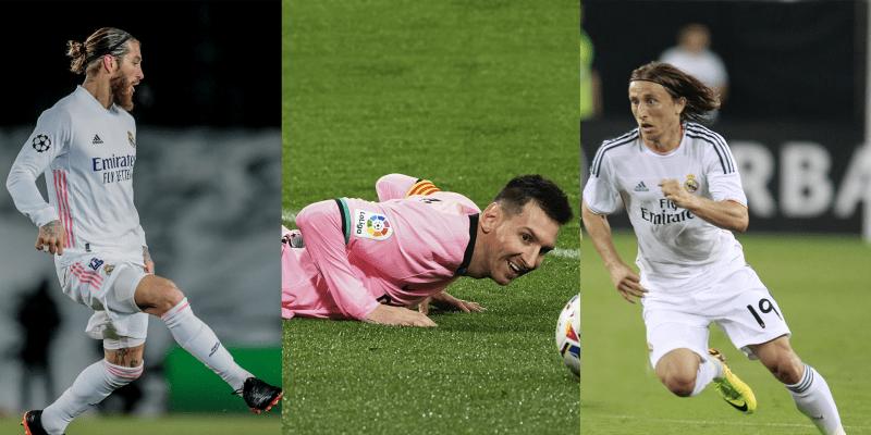 Fotbalisté, kteří budou v létě 2021 zadarmo.