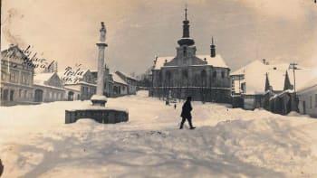 Rekordní mráz z roku 1929: Minus 42 a čtyři metry sněhu. Policajtům praskaly obušky