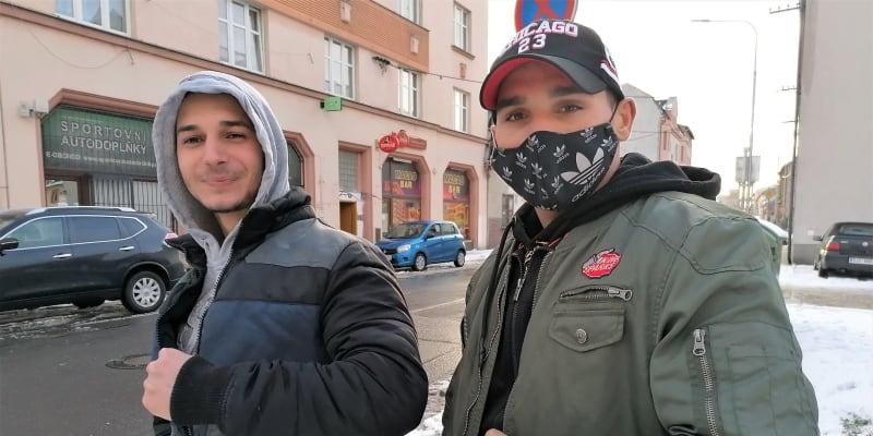 Adam Ferenc a Honza Bandy z Ostravy-Vítkovic očkování odmítají.