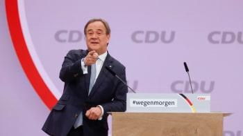 Německá vládní CDU má nového předsedu. Armin Laschet se může ucházet i o post kancléře