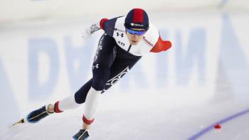 Sáblíková získala na vícebojařském mistrovství Evropy bronz. Titul obhájila de Jongová