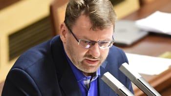 Exkluzivní rozhovor s Lubomírem Volným: Jak se staví ke svému skandálu ve Sněmovně?