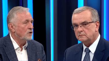 Topolánek pochválil Kalouska: Byl bys dobrý premiér i prezident
