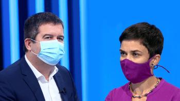 Sledujte nedělní Partii: Ministr vnitra Jan Hamáček vs. pirátka Olga Richterová