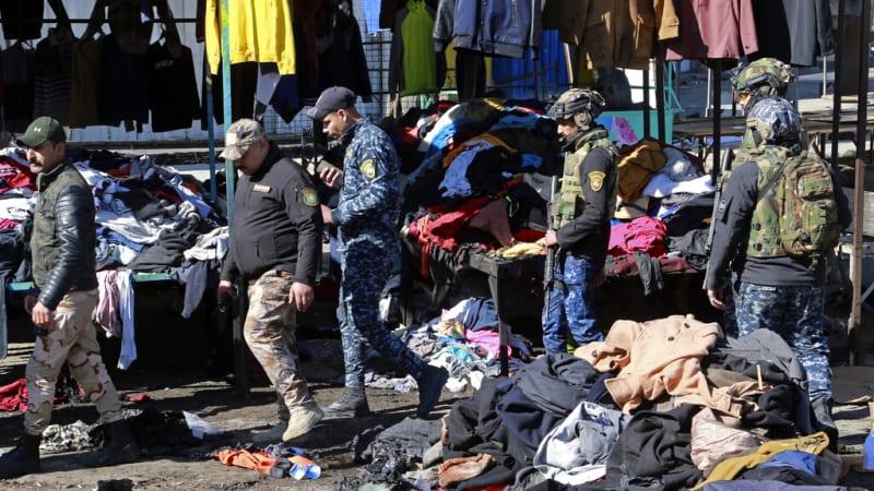 Teror v Bagdádu: Po několika explozích na tržišti zemřelo nejméně 32 lidí