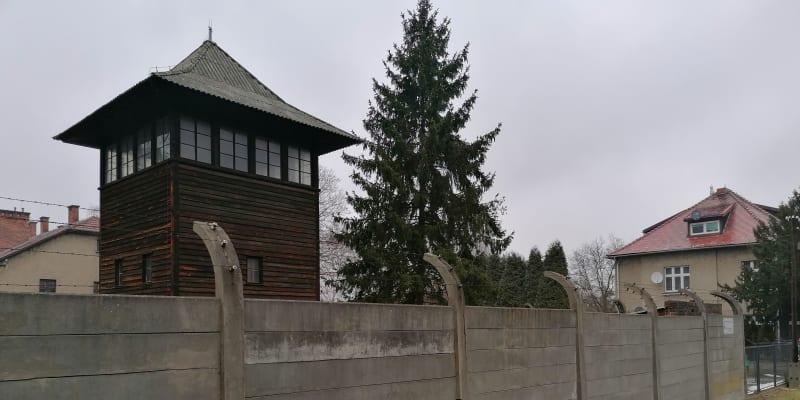 Osvětim, tábor s vilou Rudolfa Hösse