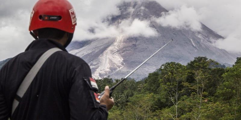 Nejaktivnější indonéská sopkaMerapivybuchla 27. ledna.