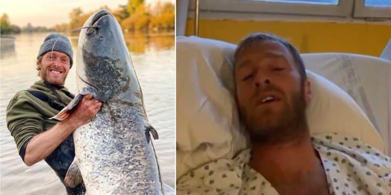 Rybář Jakub Vágner v Kongu chytil malárii. V horečkách leží v pražské nemocnici.