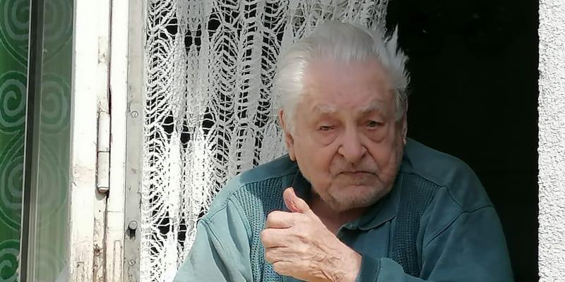 Veterán František Žebrák, 8. května 2020