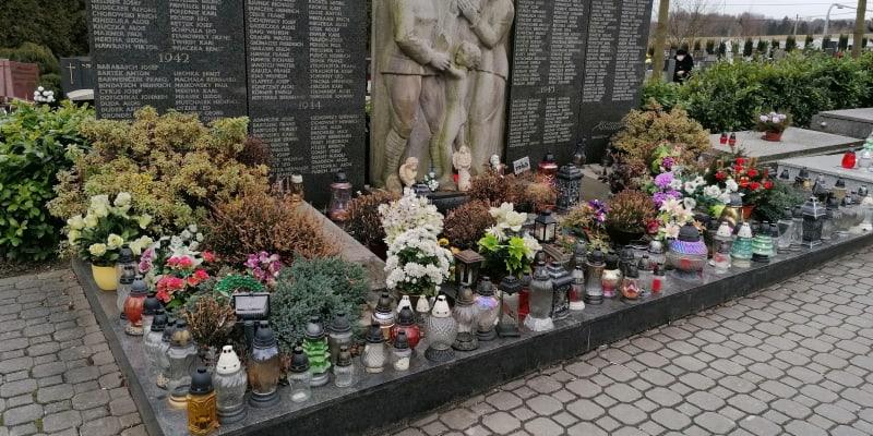 Pomník padlým vojákům wehrmachtu v Ludgeřovicích na Hlučínsku