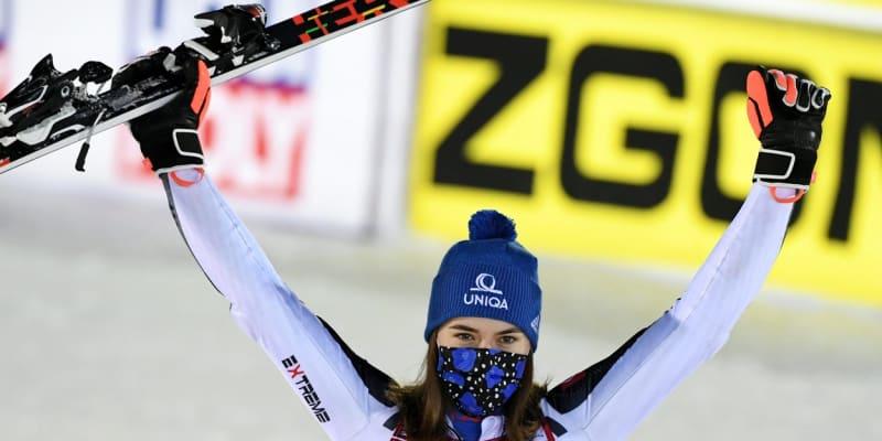 Slovenka Petra Vlhová patří mezi žhavé favoritky nadcházejícího mistrovství světa v alpském lyžování.