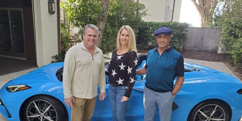 Sylvester Stallone se svým novým vozem