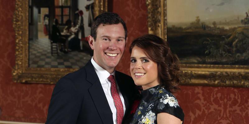 Zásnuby princezny Eugenie a jejího partnera Jacka Brooksbanka