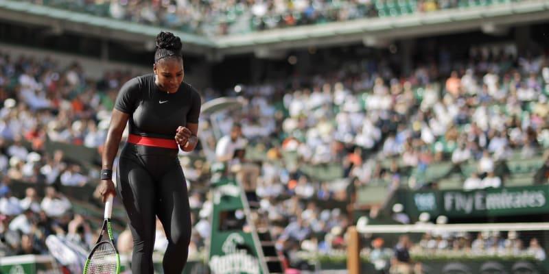 Oblečením na Roland Garros 2018 chtěla Serena Williamsová inspirovat všechny matky.