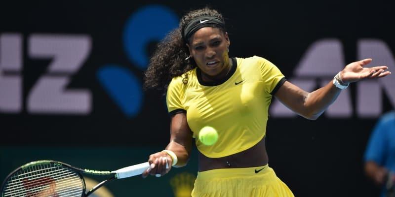 Křiklavé oblečení má Serena Williamsová ráda, což ukázala i na Australian Open v sezoně 2016.