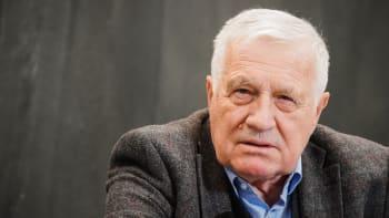 Václav Klaus k Vrběticím: Covidem nelze děsit věčně, vláda si našla nového strašáka