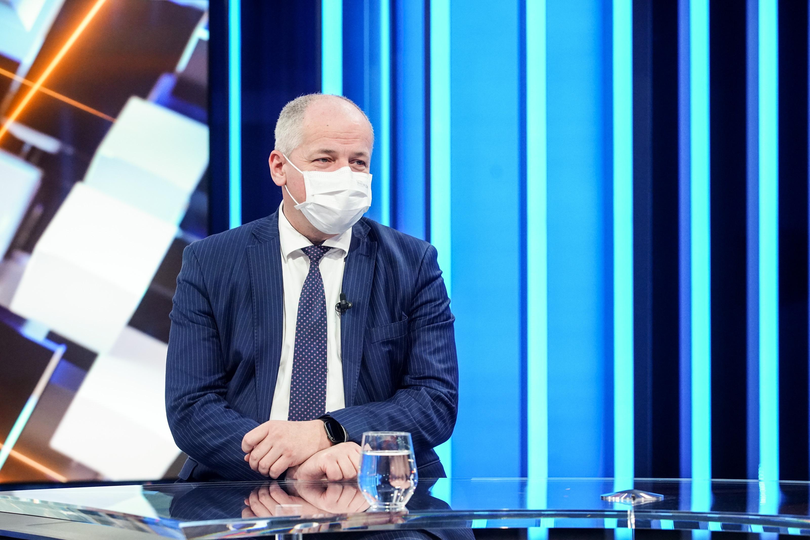 Epidemiolog a poradce prezidenta Miloše Zemana Roman Prymula