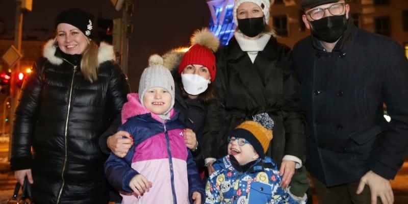 Rodina nemocného Olivera (Zdroj: MČ Praha 2)