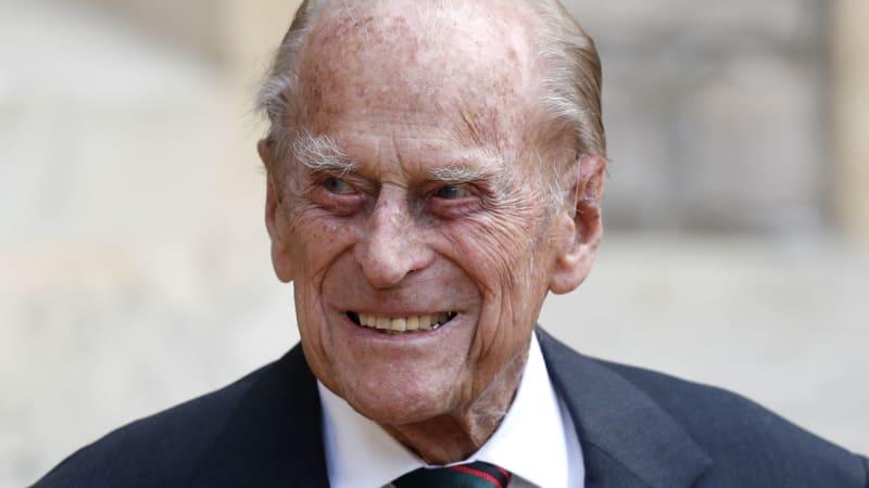 Princ Philip s oblibou stříkal hořčici na zeď. Miloval, když se věci pokazily, říká William