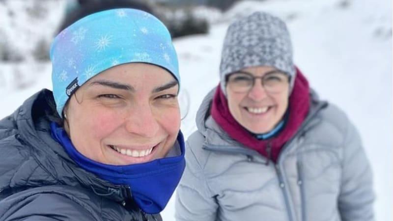 Rodinná tragédie české lyžařky. Miluji tě navždy, maminko, truchlí slalomářka