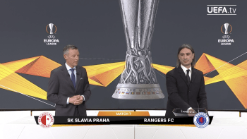 Slavia opět poletí na ostrovy. V osmifinále Evropské ligy narazí na Glasgow Rangers