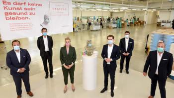 Podvod s respirátory v Rakousku: Vyrábějí se v Číně, ale nesou označení Made in Austria