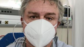 Poslanec Jiří Dolejš má covid a je v nemocnici. Ležím s kyslíkem a bojuju, vzkázal