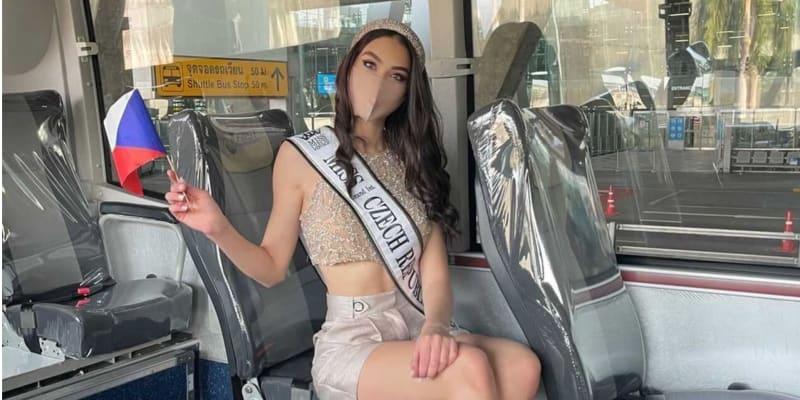 Denisa Spergerová v Bangkoku bojuje o titul nejkrásnější ženy světa.