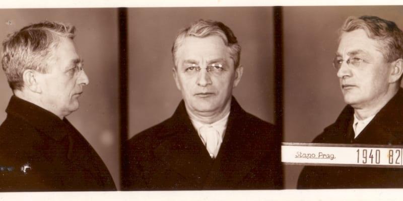 Brigádní generál Československé armády Václav Volf, odbojář Obrany národa, jenž byl v berlínském Plötzensee popraven 24. 11. 1942.