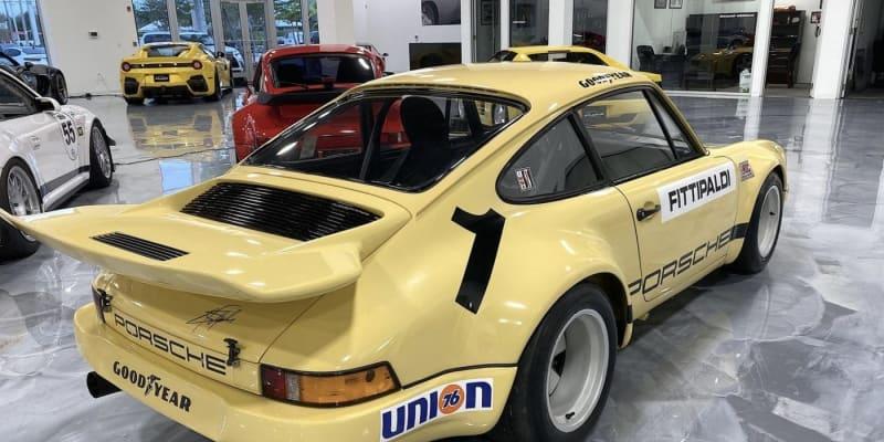 Porsche 911 RSR, které vlastnil Pablo Escobar, v dnešní podobě.