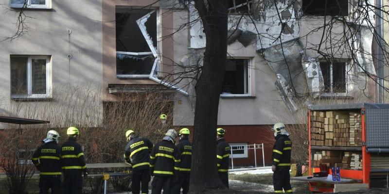 K explozi pětipatrového domu v Ostravě došlo 24. února.