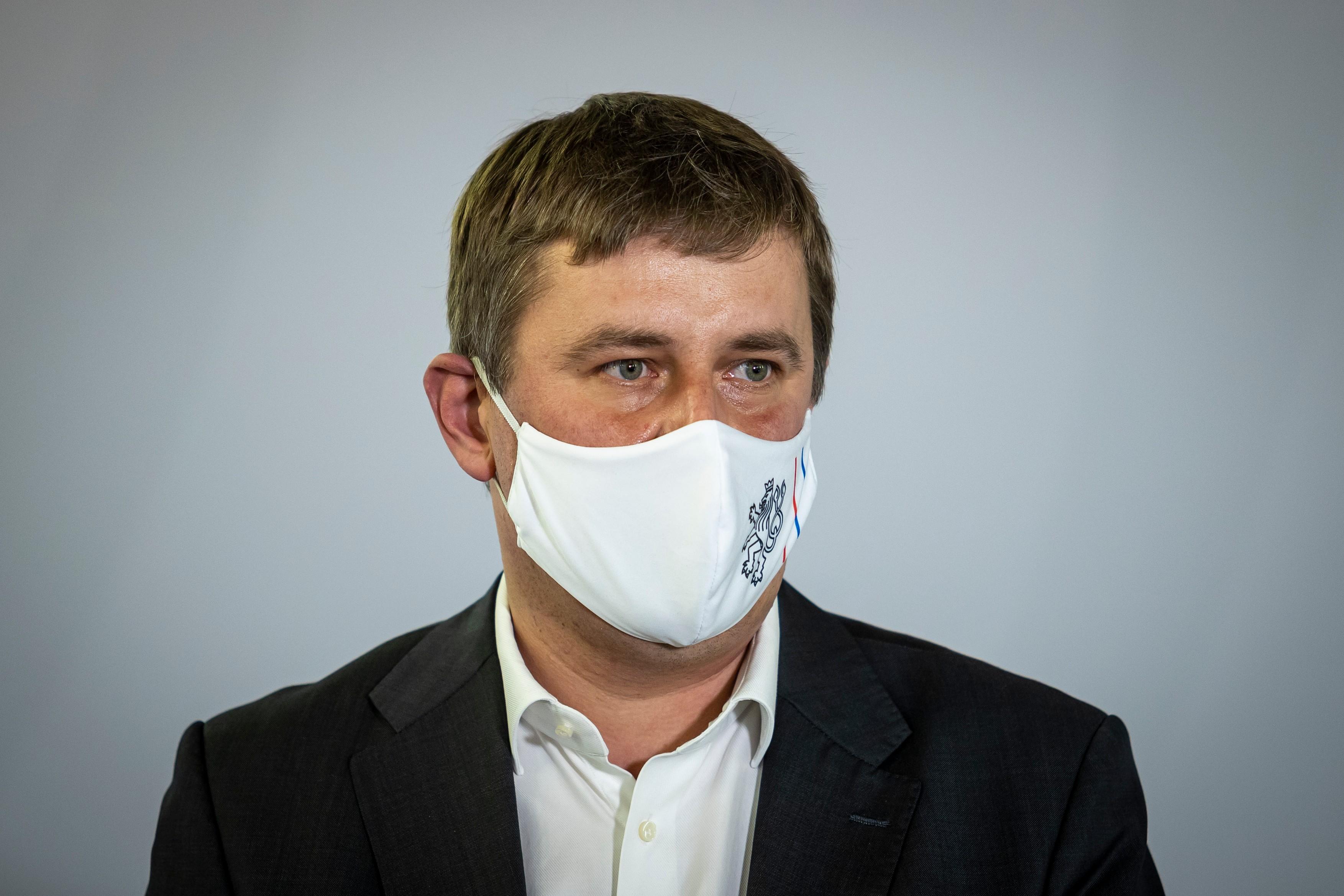 Tomáš Petříček byl hostem pořadu Nový den.