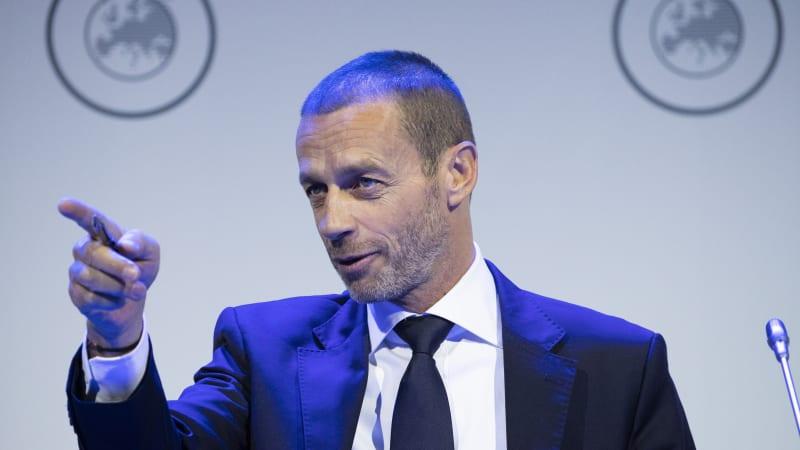 Šéf UEFA pobouřil pořadatele: Variantu Eura bez diváků jsme smetli ze stolu