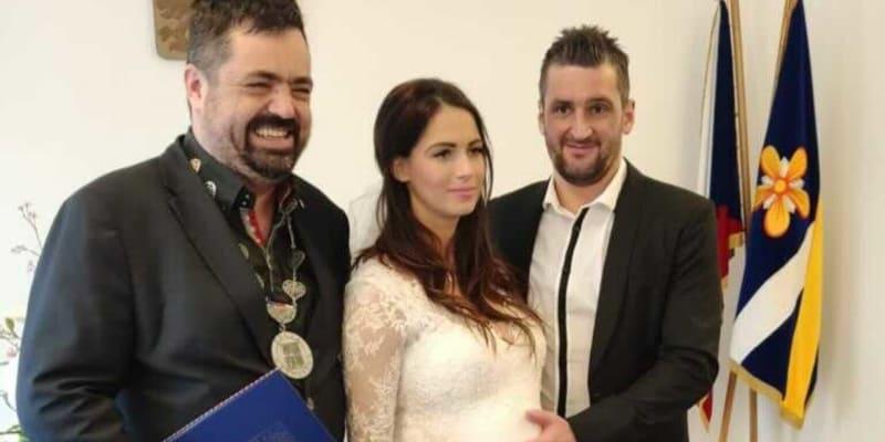 Martin Fenin se oženil.