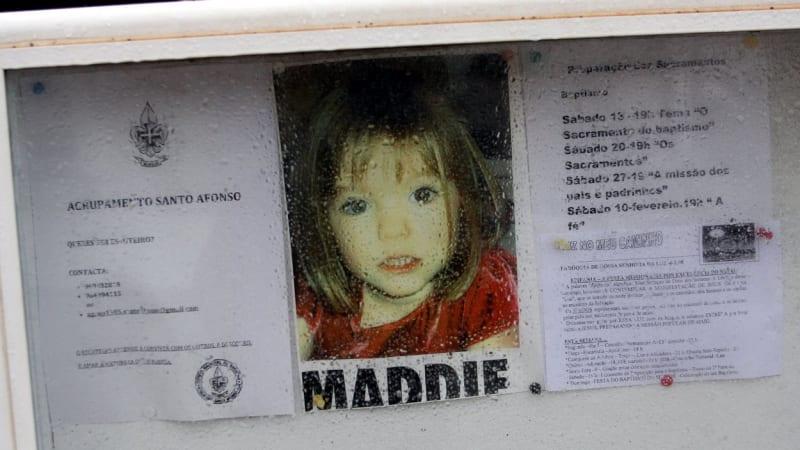 Zvrat ve vyšetřování únosu tříleté Maddie. Hlavní podezřelý může být nevinný