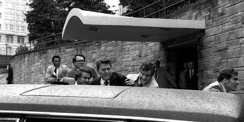 Ronald Reagan po atentátu